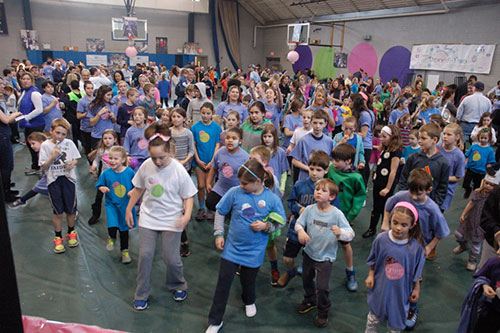Brain Tumor Research Fundraising Dance-A-Thon event