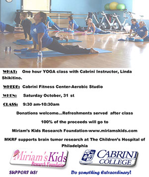 Learn Yoga and Support Charity at Cabrini on October 31st 2015
